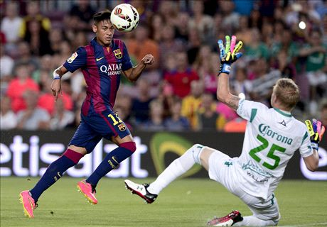 Neymar injury blow for Barcelona