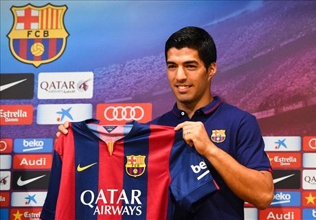 'It's a dream' - Barca unveil Suarez