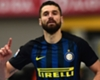 Chelsea link 'nice' for Candreva but winger happy at Inter