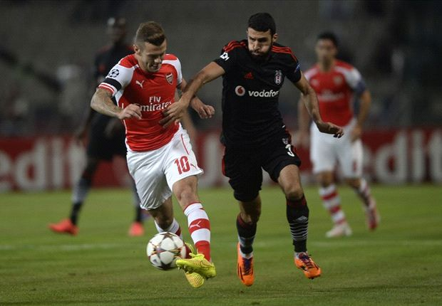 Besiktas 0-0 Arsenal: Gunners escape with goalless draw despite Ramsey red card