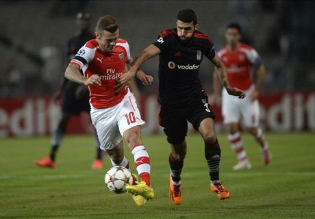 FT. Besiktas 0-0 Arsenal