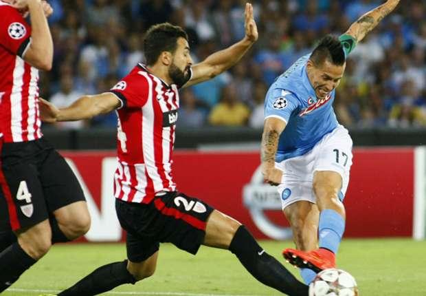 Napoli-Athletic Bilbao 1-1: Higuain rimanda tutto al San Mames