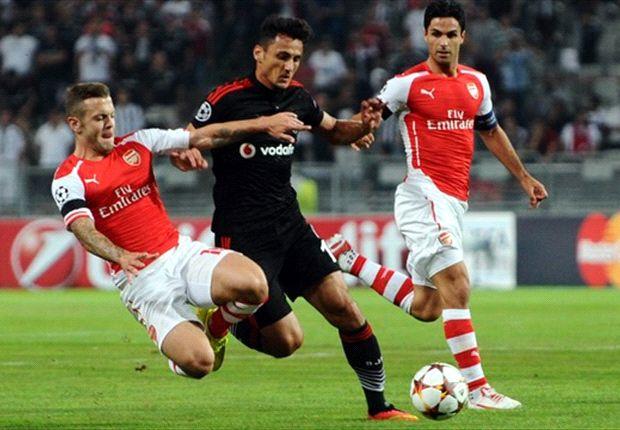 Besiktas 0-0 Arsenal: Prefieren que decida el Emirates Stadium