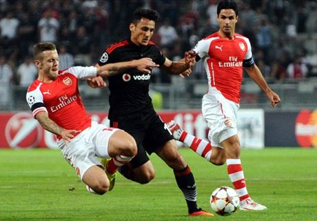Besiktas-Arsenal Imbang Tanpa Gol