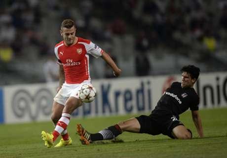Jamu Besiktas, Wilshere Imbau Arsenal Tetap Fokus