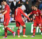 Leverkusen, Steaua y Salzburgo vencen