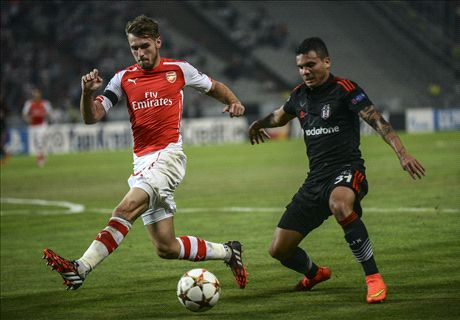 Ramsey sees red as Arsenal are held
