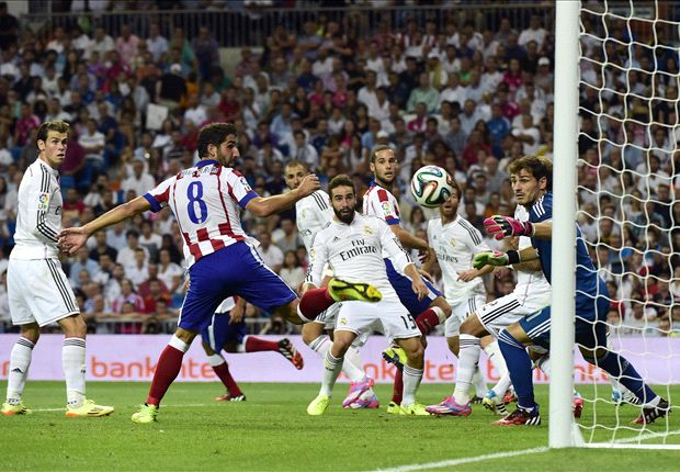 Real Madrid 1-1 Atletico Madrid: Raul Garcia strike denies James