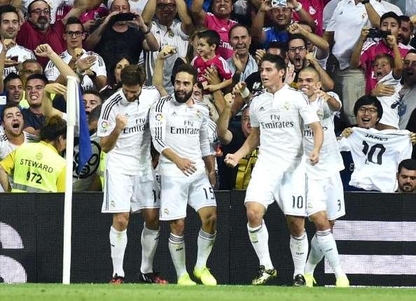 JAmes Rodriguez score Real MAdrid
