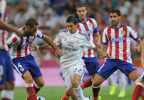 Di Maria is Madrid's best player - Simeone