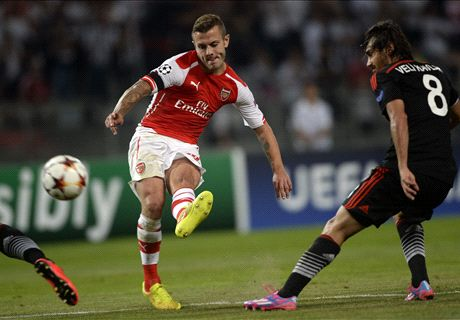 Wilshere urges focus for return leg