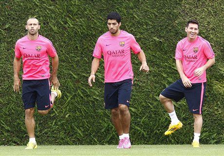 Mascherano: Messi could get better