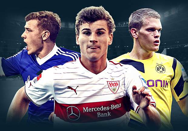 Werner, Arnold & the potential breakthrough stars of the Bundesliga in 2014-15