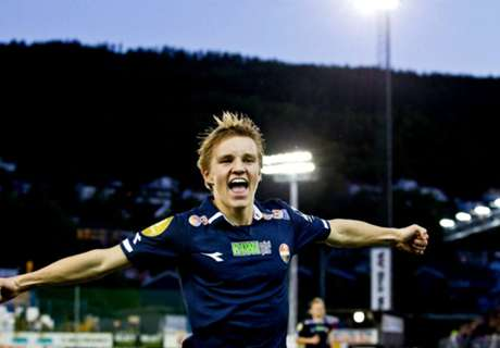 La Juventus en Norvège pour Odegaard