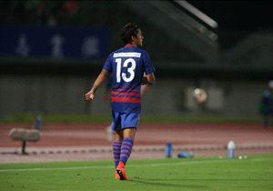 Irfan ketika melakoni debut di laga kompetitif