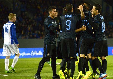 Icardi on target as Inter ease past Stjarnan