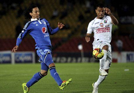 Colombia: Once Caldas 1-1 Millonarios