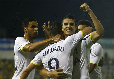 Lamela, fundamental para los Spurs