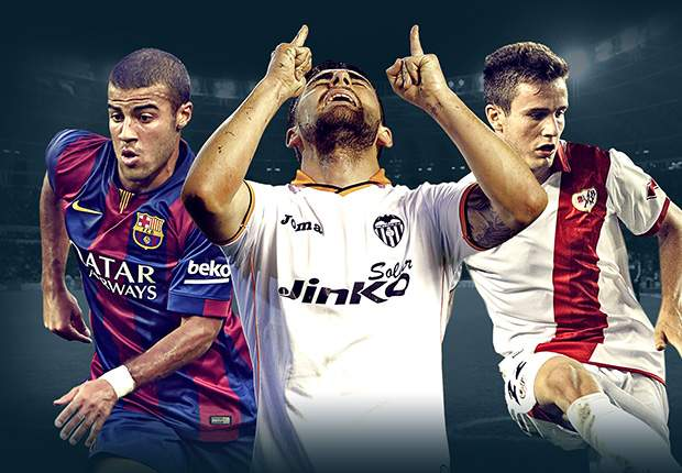 Rafinha, Deulofeu & the potential breakthrough stars of La Liga in 2014-15