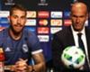 Sergio Ramos hails 'captain' Zidane
