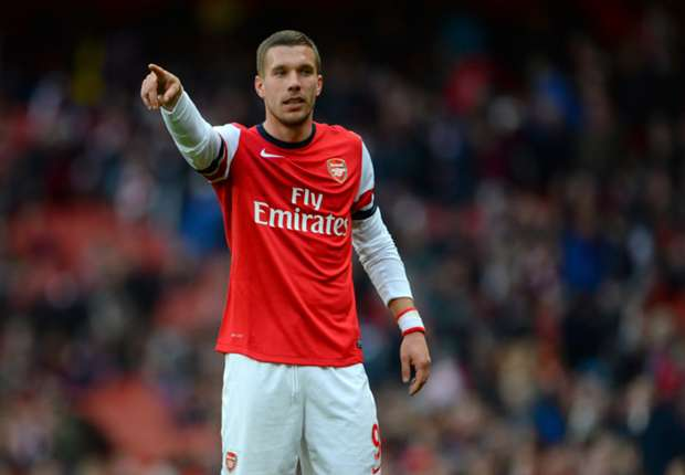 Juventus lead Podolski race as Wenger says he can leave Arsenal