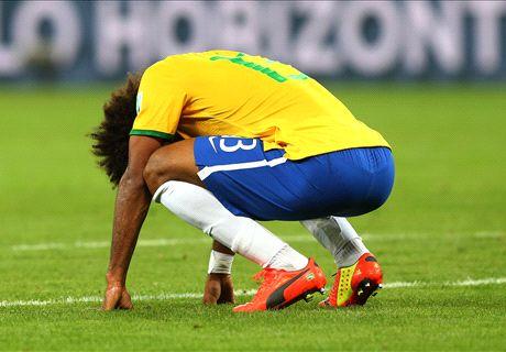 Dante ainda lamenta eliminação na Copa