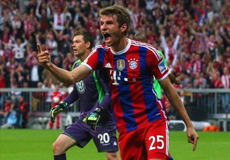 LIVE: Bayern Munich 2-1 Wolfsburg