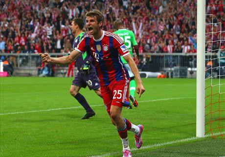 Report: Bayern Munich 2-1 Wolfsburg