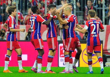 Crónica: Bayern 2-1 Wolfsburgo
