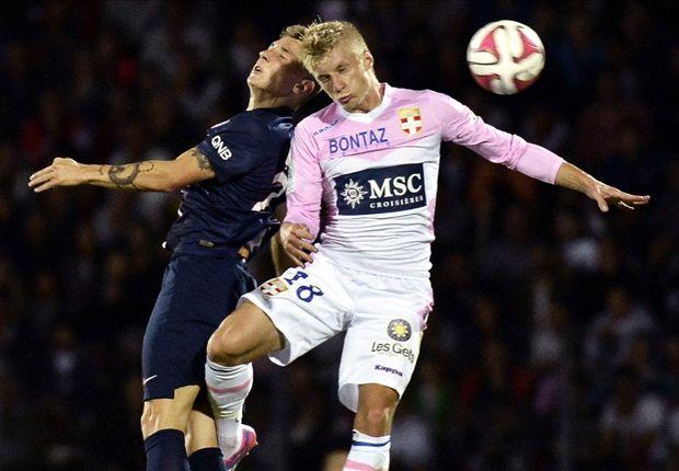 Evian-Paris SG (0-0), Paris accroché par Evian