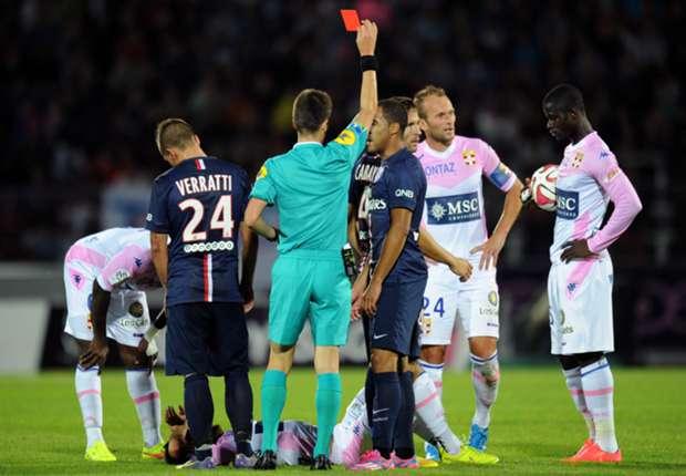 Evian 0-0 París Saint Germain: Los de Laurent Blanc se quedan secos sin Zlatan Ibrahimovic
