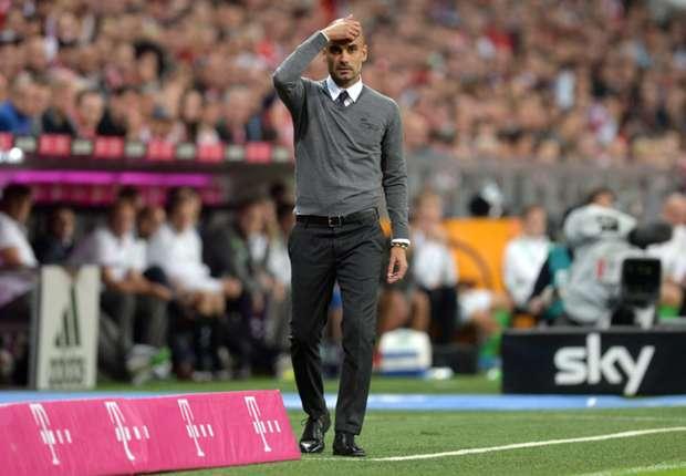 Guardiola sambut kemenangan perdana di Bundesliga.