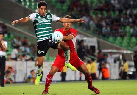Liga MX: Santos 3-0 Toluca