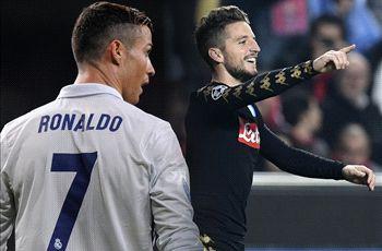 LIVE: Real Madrid vs Napoli