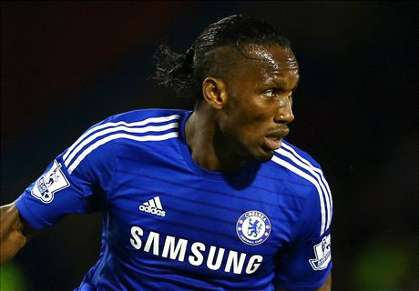 TEAM NEWS: Drogba replaces Costa