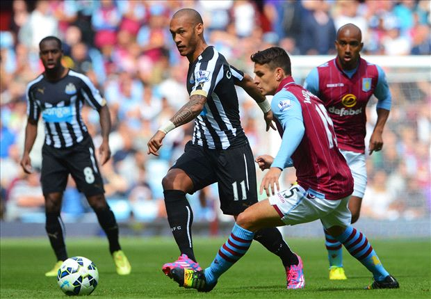 Aston Villa 0-0 Newcastle: Williamson sent off in goalless draw