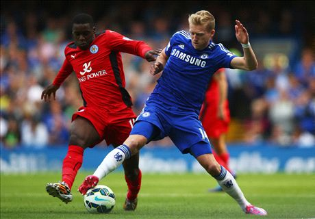 LIVE: Chelsea 1-0 Leicester