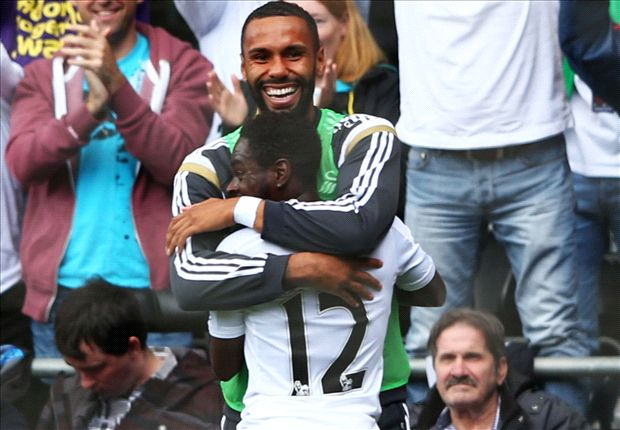 Swansea 1-0 Burnley: Dyer secures win as dream start continues for Monk's men