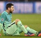La soirée cauchemardesque de Messi