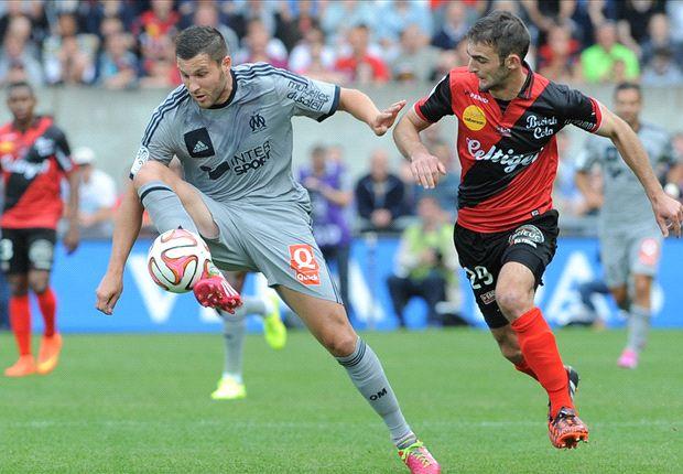 Guingamp-OM (0-1), Gignac lance Marseille