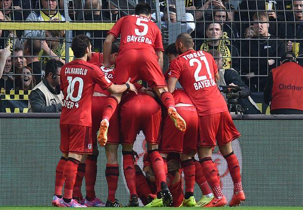 Leverkusen durfte in Dortmund jubeln