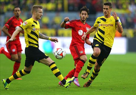 Dortmund rocked by Leverkusen