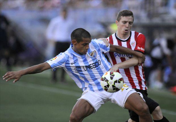 Málaga 1-0 Athletic Club: Luis Alberto estrena el casillero de puntos