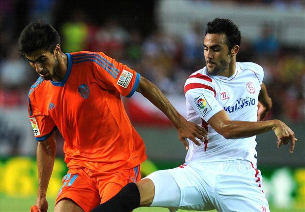 Sevilla 1-1 Valencia: Los hispalenses regalan un punto de oro a los chés