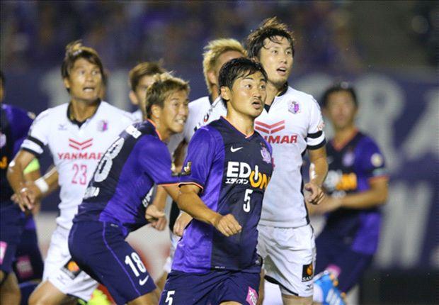 Sanfrecce Hiroshima bermain imbang melawan Cerezo Osaka