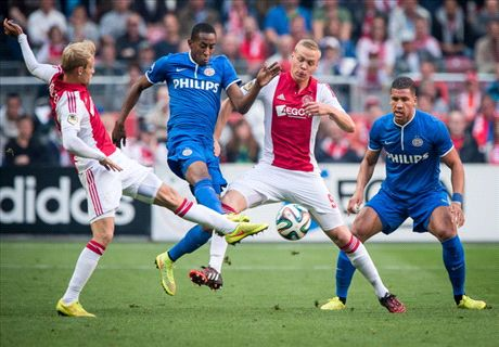 Ajax 1-3 PSV: Champs stunned