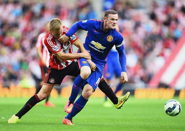 Rooney no tuvo un buen partido ante Sunderland.