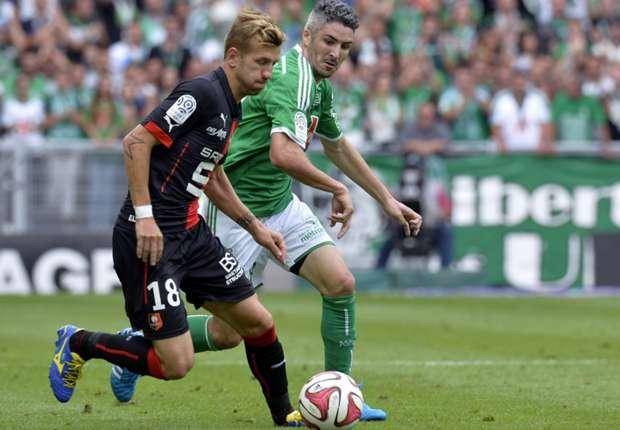 Pedro Henrique Fabien Lemoine Saint-Etienne Rennes Ligue 1 08242014