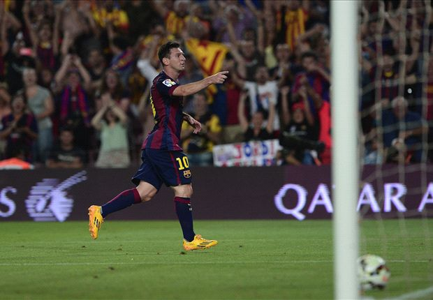 Luis Enrique: Messi the best in the world - even when defending