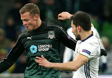 Claesson debut goal gives Krasnodar advantage